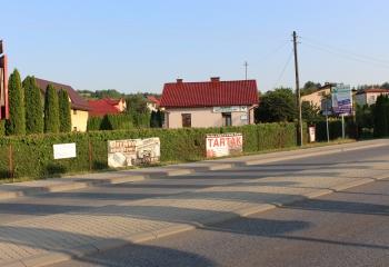 Widok od strony Carrefoura